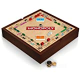 Deluxe 5-in-1 Game Set with Monopoly, Chess and More