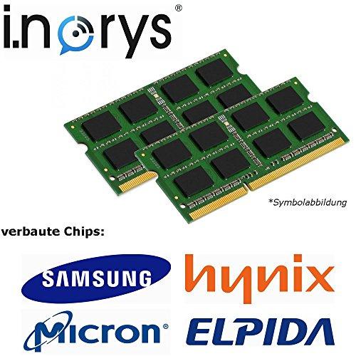 i.norys - 4GB (2x 2GB) DDR2 800MHz C6 (PC2 6400) SO-DIMM (200-PIN, für Notebook, Laptop) Arbeitsspeicher RAM Memory