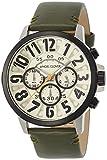 [エンジェルクローバー]Angel Clover 腕時計 Bump アイボリー文字盤 クロノグラフ BU44BIV-GR メンズ