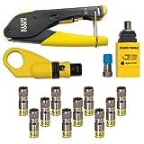 Klein Tools VDV002-818 Coax Installation and Testing Kit