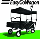 EasyGoWagon Folding/Collapsible Utility Wagon Black