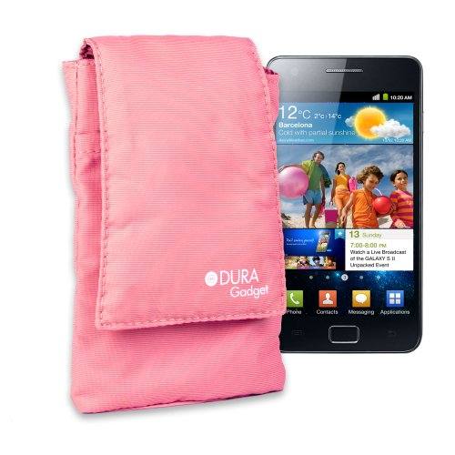 Stylish Pink Protective Carry Case With Handy