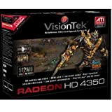 51O6zG4aP7L. SL160  VisionTek 900270 Radeon HD4350 512MB DDR2 PCI Express Graphics Card