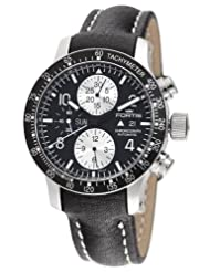 Cheap Price Fortis Men's 665.10.11L B-42 Stratoliner Automatic Chronograph Black Dial Watch USA Sale