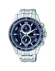 Citizen Eco-Drive Analog Blue Dial Men's Watch - CA0346-59L