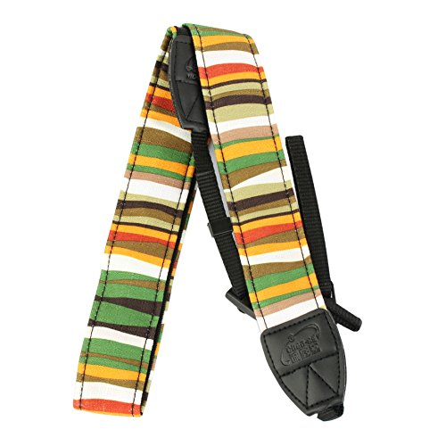 Aestar Vintage Universal Durable Colorful Soft Camera Neck / Shoulder Strap Cotton Yard For Digital Slr Camera (Stripe 2)
