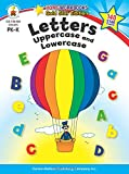img - for Letters: Uppercase and Lowercase, Grades PK - K: Gold Star Edition (Home Workbooks) book / textbook / text book