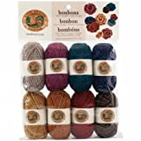 Lion Brand Yarn 601-650 Bonbons Yarn, Party