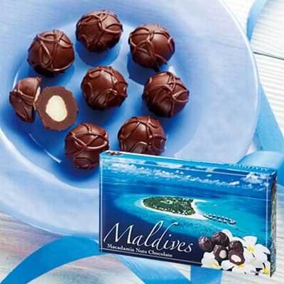 モルディブ マカデミアナッツチョコレート 【モルディブ 海外土産 輸入食品 スイーツ】 164613