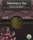 Elderberry Tea - Organic Herbs - 18 Bleach Free Tea Bags