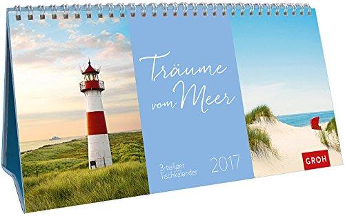 Trume-vom-Meer-2017-3-teiliger-Tischkalender-mit-Monatskalendarium