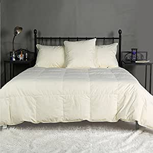 summer lightweight 80 white goose down and feather comforter multi colors king. Black Bedroom Furniture Sets. Home Design Ideas