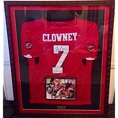 Jadeveon Clowney autographed South Carolina Gamecocks jersey