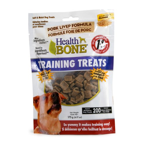 Omega Paws Health Bone Training Pork Treats, Mini (Training The Omega compare prices)