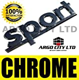 CHROME SPORT BADGE HYUNDAI GETZ COUPE MATRIX 130 TUCSON