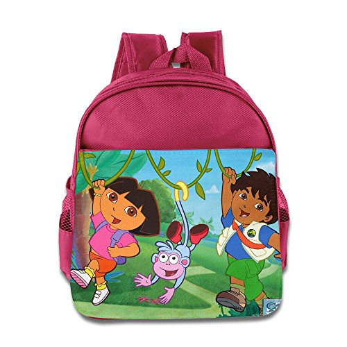 [Go Diego Go With Dora Kids School Backpack Bag] (Dora Diego And Boots)