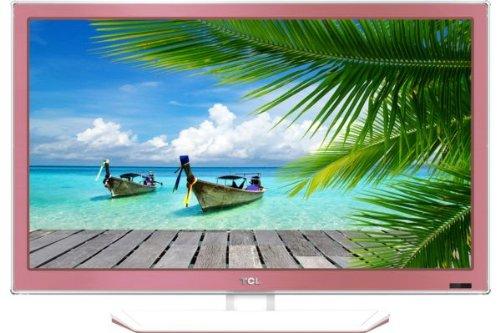 TCL L26E4153/G 66 cm rosa (26 Zoll) Fernseher (HD-Ready, Twin Tuner) [Energieklasse A]