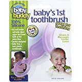 Baby Buddy Baby's 1st Toothbrush, Pink (Discontinued by Manufacturer)