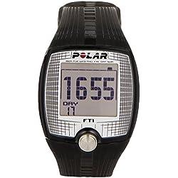 Polar FT1 Cardiofrequenzimetro, Nero