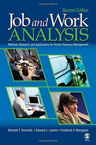 Job and Work Analysis: Methods, Research, and...