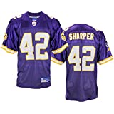 Minnesota Vikings Mens NFL Football Jersey Darren Sharper #42 Purple