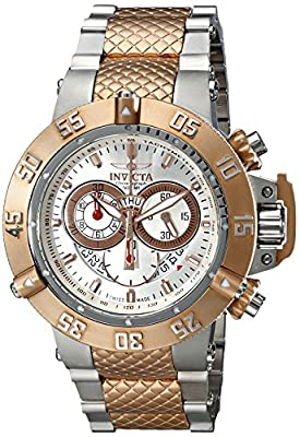 Invicta Men's 80506 Subaqua Analog Display Swiss Quartz Two Tone Watch
