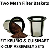 2 X Keurig Cuisinart One All My K-Cup Reusable Coffee FILTER BASKET REPLACEMENTS