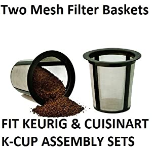 Keurig My K-Cup 2-Pack Reusable Coffee Filter Basket Replacement