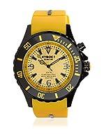 KYBOE! Reloj automático Unisex Amarillo 55 mm