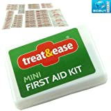 42 Piece First Aid Kit - Travel Size Complete in a Carry Case