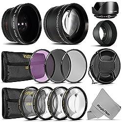 Goja 52mm Starter Accessory Kit for Nikon Digital SLR (D3200 D5200 D5100 D5000 D3100 D3000 D90 D80) Cameras