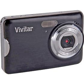 New-ViviCam VX029 10.1MP HD Digital Camera with 4x digital zoom and 2.7 Screen - Black - CB5330