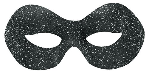 Black Sophisticate Domino Mask