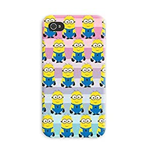 Aurmen High Quality Printed Designer Back Case Cover for Apple Iphone 4s (Minion23)