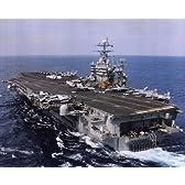 USSハリーS.トルーマン( CVN -75 )米海軍 ファインアート プリント (25.40 x 20.32 cm)