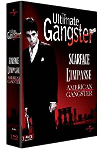The Ultimate Gangster - Coffret - American Gangster + Scarface + L'impasse [Blu-ray]