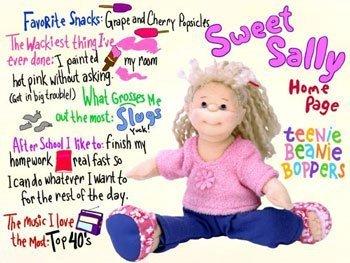 Ty Teenie Beanie Bopper - Sweet Sally - 1