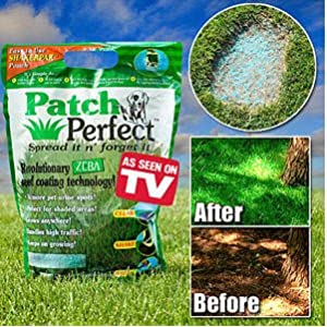 Patch Perfect Grass Seed and Lawn Repair 100 sq ft Coverage