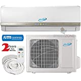12000 Btu Air-Con DC Inverter Ductless Air Conditioner Heat Pump System 208-230V, 17ft Lines