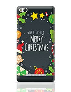 PosterGuy We Wish You a Merry Christmas Christmas, Santa Claus, Party, Funny Xiaomi Mi 4i Cover