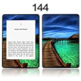 TaylorHe Vinyl Skin Decal for Amazon Kindle Paperwhite Ultra-slim protection for Kindle MADE IN BRITAIN FREE UK DELIVERY Design of Tropical Beach Landscape