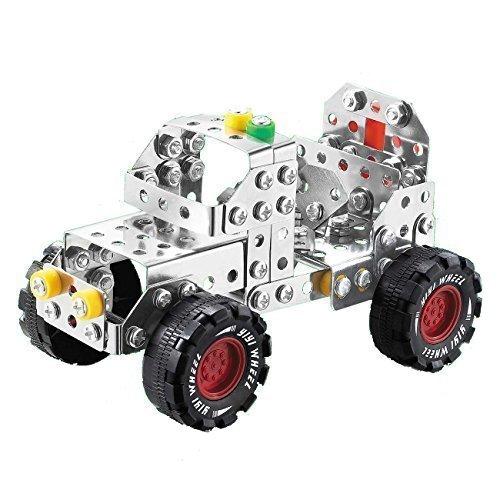 DIY-Auto-Modellbaustze-Jeep-Modell-Traktor-Baukasten-inklusive-Werkzeug-195-Teile-Fr-8-Jahre-alt-Jungen
