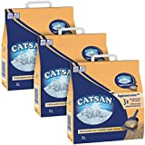 Catsan Agglomérante Plus - 5L - Lot de 3