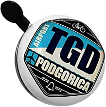 Bicycle Bell Airportcode TGD Podgorica by NEONBLOND