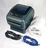 Zebra ZP450 Thermal Label Printer Bundle (1,000 labels included)