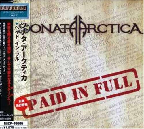 Sonata Arctica - Paid in Full (Single) - Zortam Music