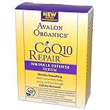 Avalon Organics CoQ10 Wrinkle Defense Serum - 0.55 Fl Oz