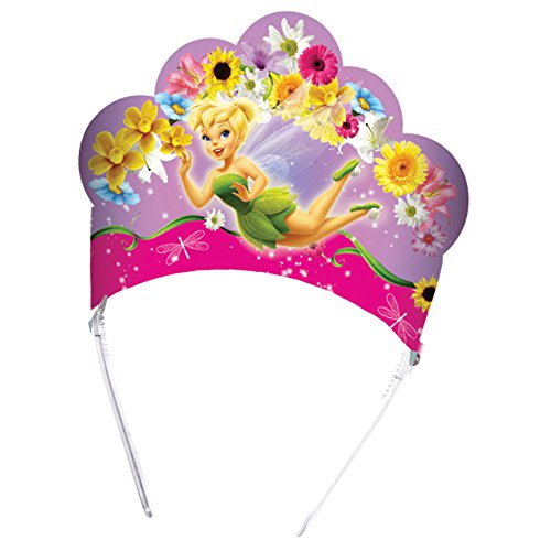 Coroncine per feste a tema Trilly Fairies Tinker Bell, 6 Pezzi