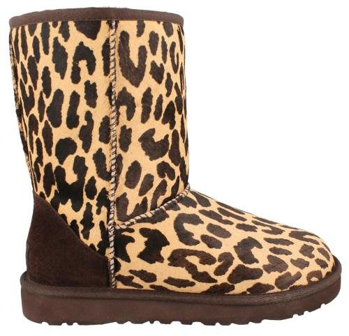 UGG Classic Short Exotic Cheetah Women Boots