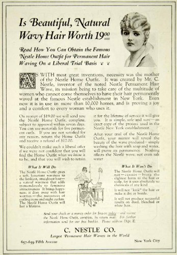 1920-ad-vintage-nestle-home-hair-permanent-outfit-wave-waving-styling-curling-original-print-ad